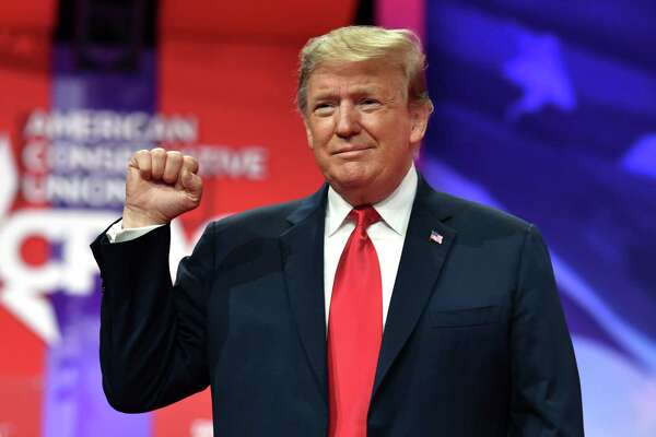 President Donald Trump arrives to speak at the annual Conservative Political Action Conference (CPAC) in National Harbor, Maryland on March 2. Perhaps negating any accomplishments, Trump will not go down as one of the greats. One reason: His manners.