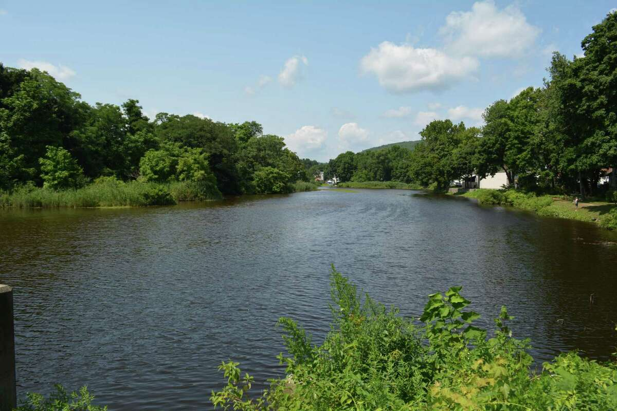 The Coe Brass Pond on the Naugatuck River near Hotchkiss Place and Migeon Ave has been a project of the Heritage Land Trust since 2010.