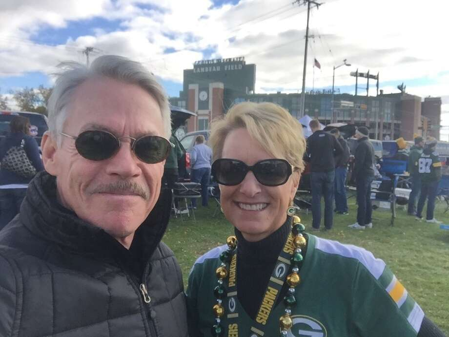 My wife and I met when we were reporters at a TV station in Green Bay, Wisconsin, near the small towns where we grew up. Photo: Courtesy