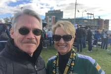 My wife and I met when we were reporters at a TV station in Green Bay, Wisconsin near the small towns where we grew up.
