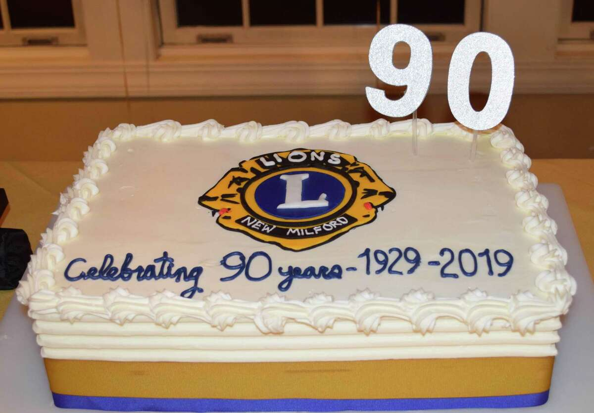 Spectrum/The New Milford Lions Club held a 90th gala celebration - based on a 1920s theme to recognize its 90th anniversary this year. Festivities were held at the Fox Hill Inn in Brookfield. march 16, 2019