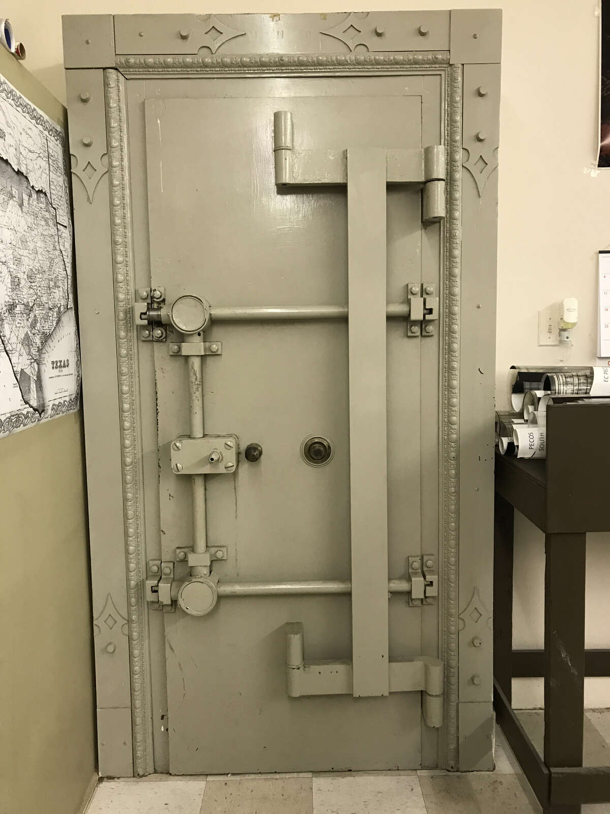 Midland Map Company's vault contains seven decades worth of maps for oilfield leases, producing zones and other useful information used by oil companies, services companies and landmen. NEXT: See the best performing companies in the Permian Basin, according to Rystad.