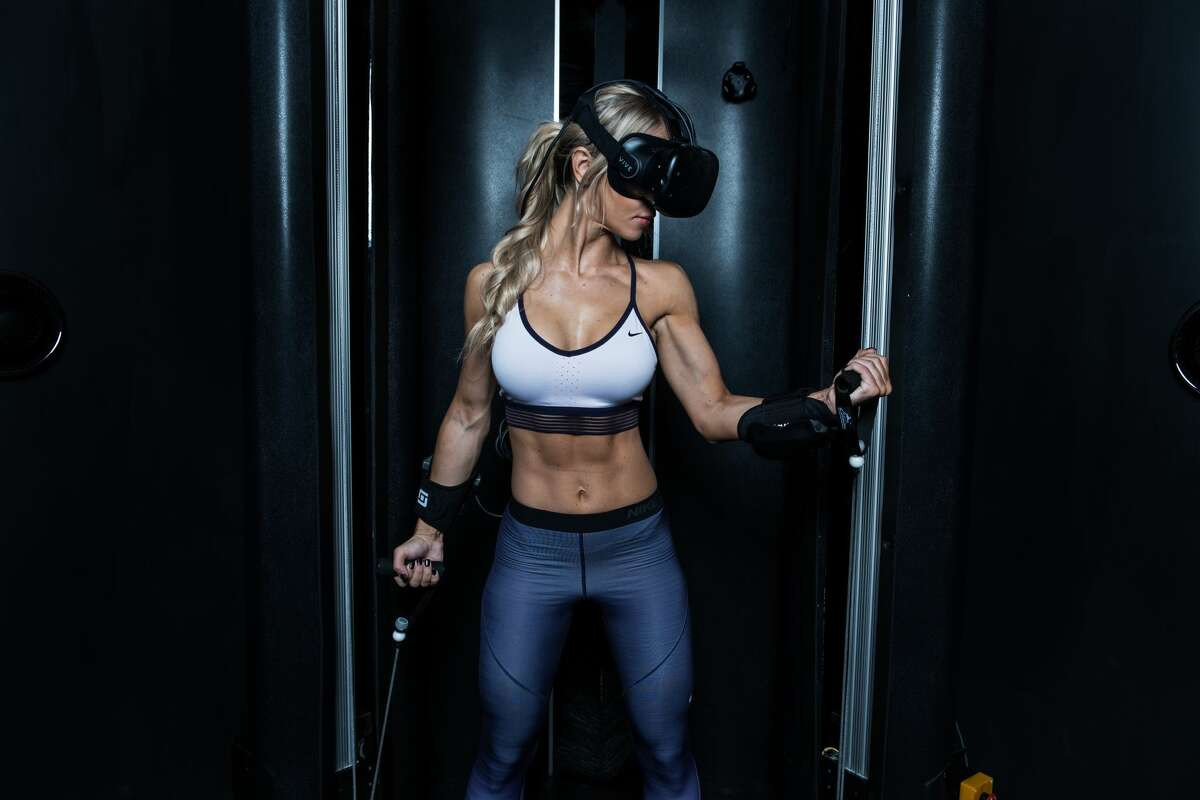 Black Box VR, the world's first immersive virtual reality gym, opens on Market Street in San Francisco in April.SFGATE staff writer Michelle Robertson wrote down some questions she had ahead of the experience. Click through the gallery to read them. Pictured above: A press image courtesy of Black Box VR (not Michelle Robertson).