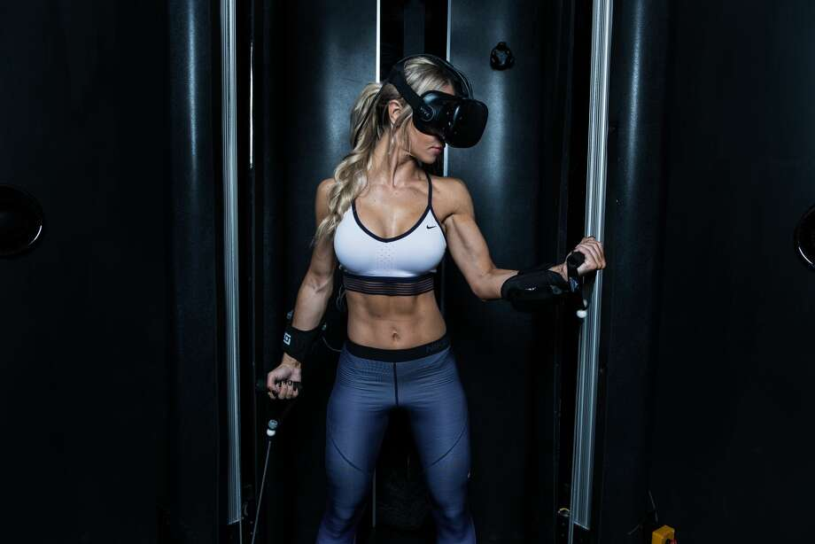 Black Box VR, the world's first immersive virtual reality gym, opens on Market Street in San Francisco in April.SFGATE staff writer Michelle Robertson wrote down some questions she had ahead of the experience. Click through the gallery to read them. Pictured above: A press image courtesy of Black Box VR (not Michelle Robertson). Photo: Fudo Jahic, Courtesy Black Box VR