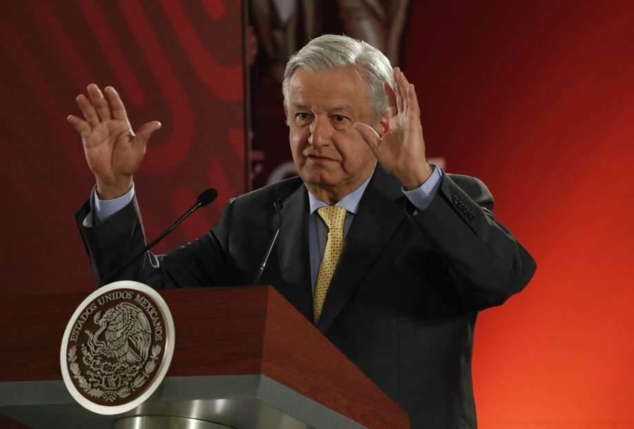 López Obrador Photo: Marco Ugarte /Associated Press / Copyright 2019 The Associated Press. All rights reserved.