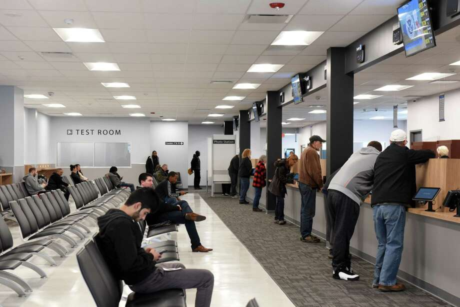 Photos: New DMV center opens in Albany - Times Union