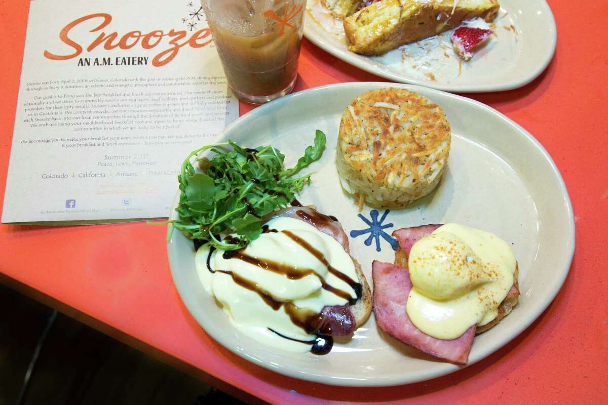 Snooze, an A.M. Eatery has opened its seventh Houston location in the Woodlands at 2415 Research Forest Dr.