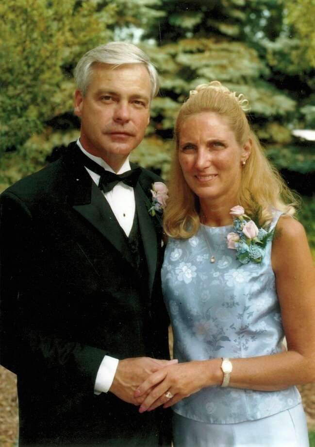 This is Chip and his wife Sherry at their daughter Shawna's wedding. This June they will celebrate 46 years of marriage. In the tenth grade at Dow High, Sherry Render saw Chip Nelson in the cafeteria and said, 'I'm gonna marry that guy.' And she did.