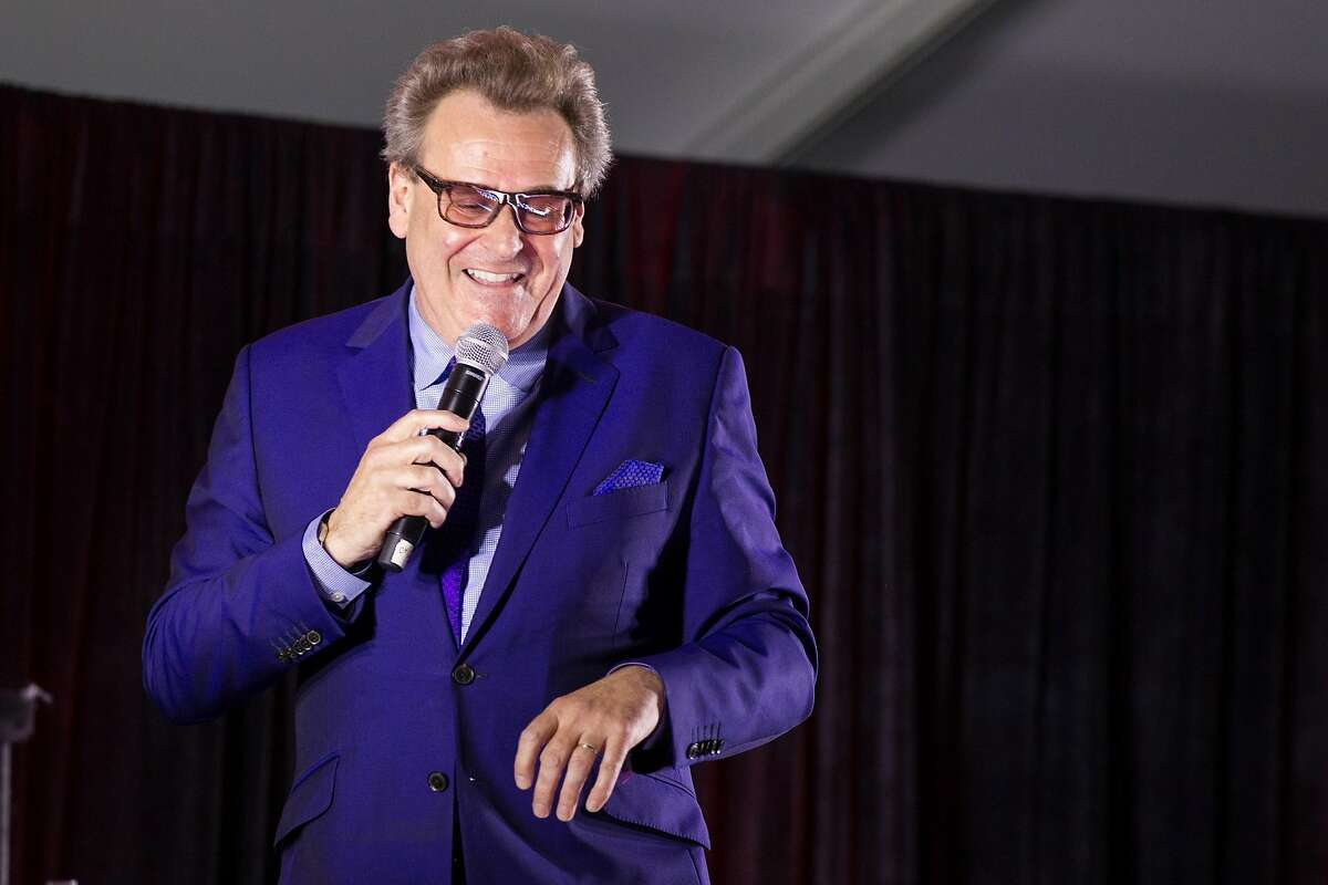 MOUNTAIN VIEW, CA - JUNE 24: Comedian Greg Proops performs at ID10T festival at Shoreline Amphitheatre on June 24, 2017 in Mountain View, California.