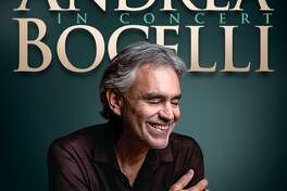 Andrea Bocelli will have a San Antonio show at the AT&T Center on Dec. 11, 2019.