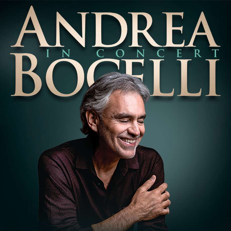 Andrea Bocelli will have a San Antonio show at the AT&T Center on Dec. 11, 2019. Photo: Courtesy, Spurs Sports And Entertainment