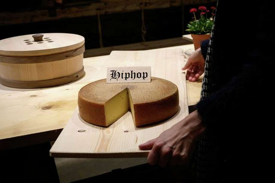 Apparently cheese ages better when exposed to hip-hop. Photo: Fabrice Coffrini / AFP/Getty Images