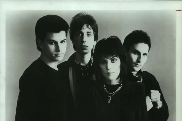 Members of the music group Joan Jett and the Blackhearts: breaking the mold.