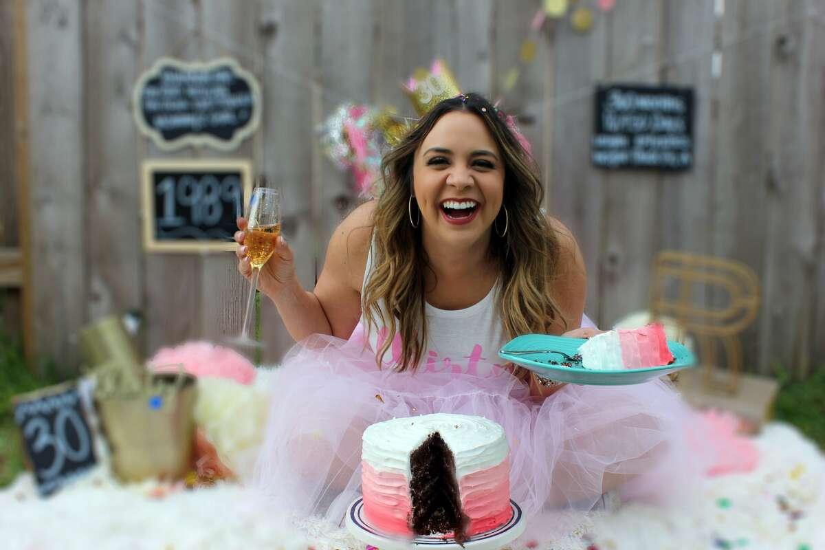 >>> Scroll through to see photos of Rhiannon Escalante's 30th birthday photoshoot.