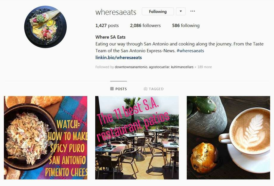 The Taste Team's Instagram page, @wheresaeats Photo: Screengrab