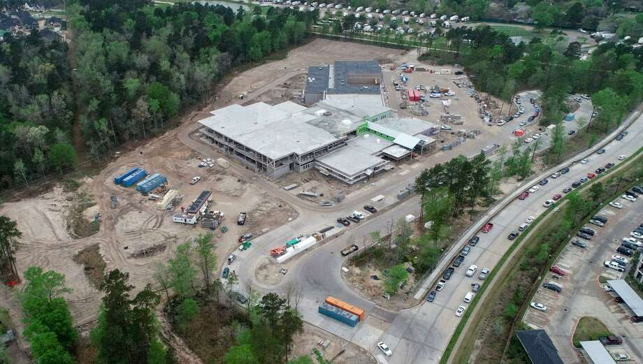 An $807 million bond package for the school district geared toward growth and security is slated as an item on the May 4 election ballot. Here, the construction project for Suchma Elementary, a previous bond project, is on schedule for an August 2019 opening. Photo: Courtesy Photos / Courtesy Photos