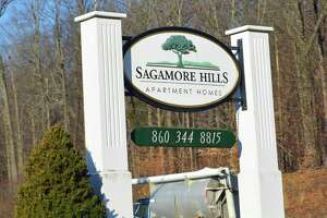 Sagamore Hills Apartments at 1151 Washington St./Route 66 in Middletown was the scene of a fire Tuesday night, which displaced nine individuals.