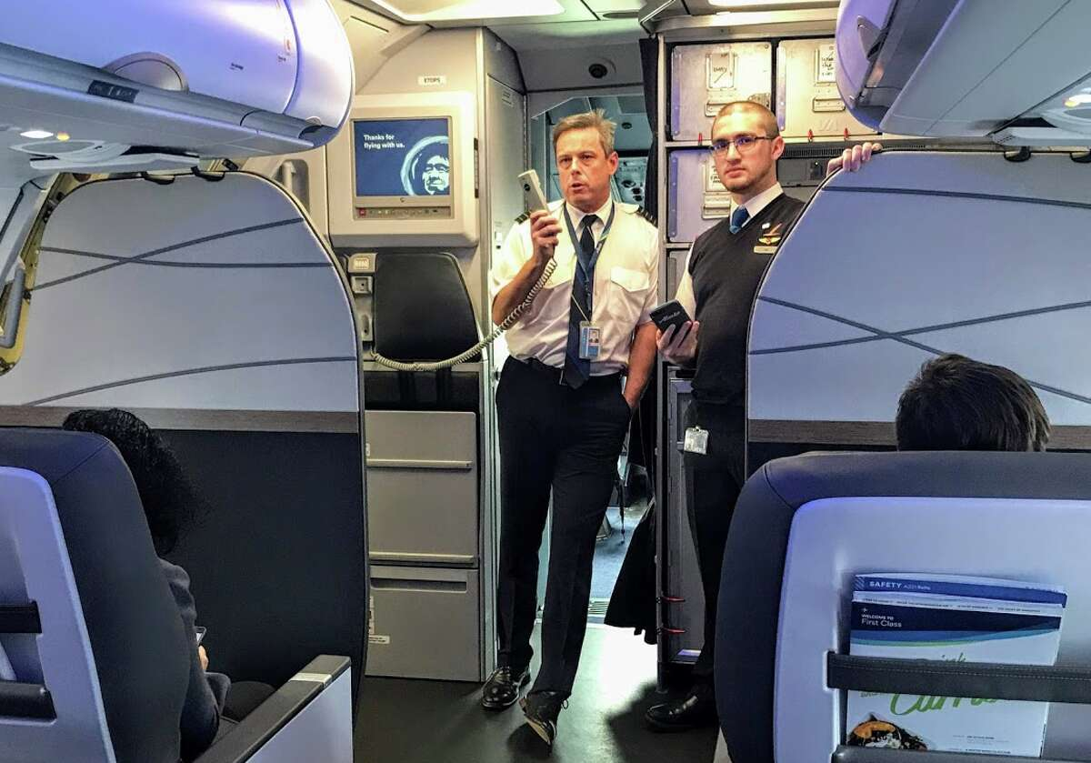 Alaska Airlines' preflight announcement now includes a stern warning about inappropriate behavior on the plane