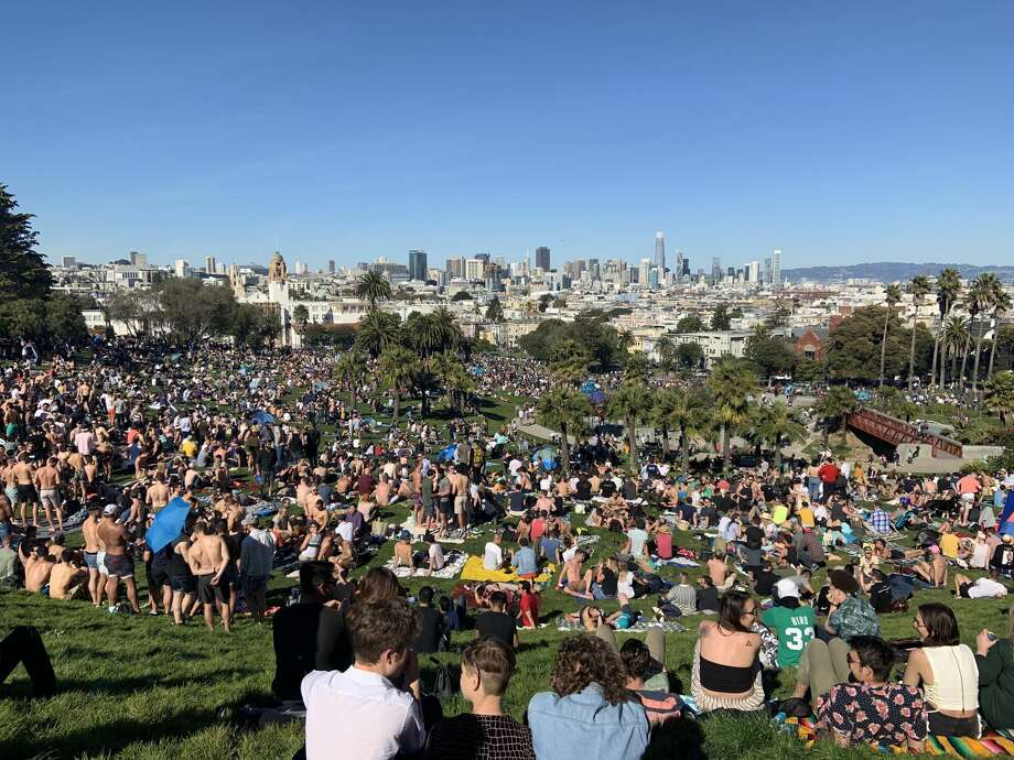 """Dolores Park is now actually not a bad place. I remember when a dead body was found OD'd on the boat in the playground."" Photo: Amy Graff"