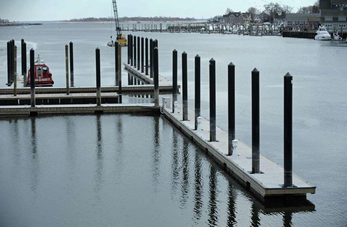 The Visitors Dock at Veterans Memorial Park.