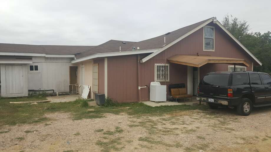 Border Patrol said they discovered 13 undocumented immigrants in this home in south Laredo. Photo: Courtesy Border Patrol