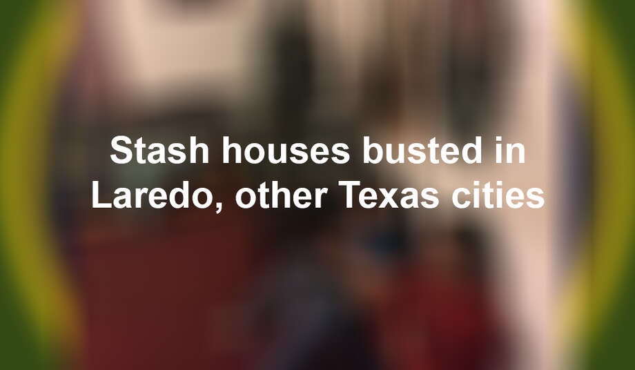 Keep scrolling to see stash houses discovered in Laredo and other Texas cities. Photo:  Border Patrol /Courtesy Photo