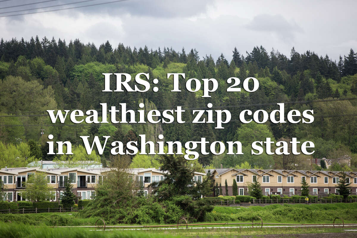 A report from the Internal Revenue Service provides a snapshot of how much money people in the King County area earned in 2016, the most recent year of data available. The average income figures are based on an average of tax returns filed in that zip code.