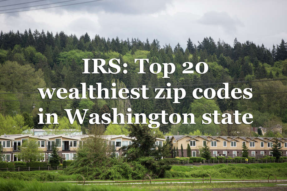 A report from the Internal Revenue Service provides a snapshot of how much money people in the King County area earned in 2016, the most recent year of data available. The average income figures are based on an average of tax returns filed in that zip code. Photo: P-I / SEATTLEPI.COM