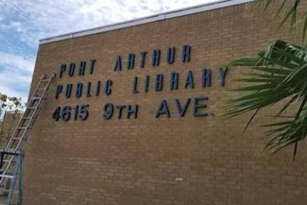 The grand reopening of the Port Arthur Public Library will be held on Saturday from 2 p.m. to 5 p.m.