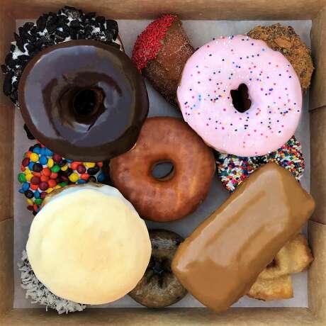 The Voodoo Dozen at Voodoo Doughnut.