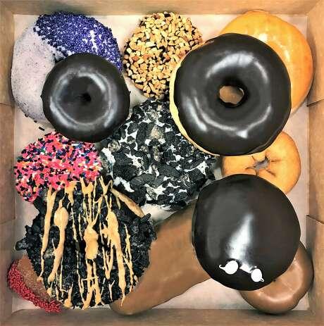 The Vegan Voodoo Dozen at Voodoo Doughnut.