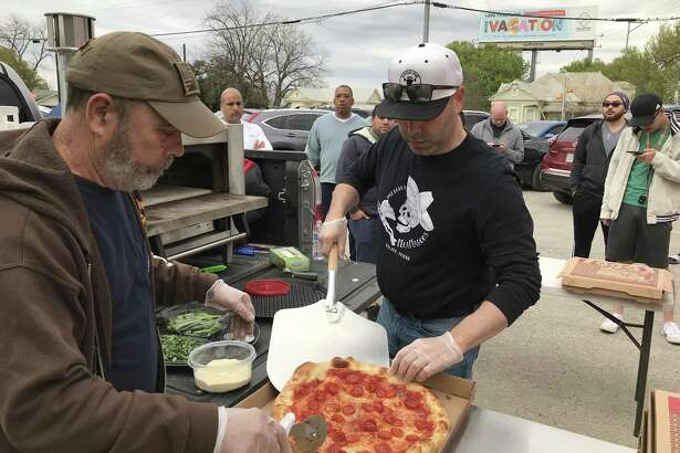Mia Marco's Pizza serves award-winning pies from a food trailer in Selma.