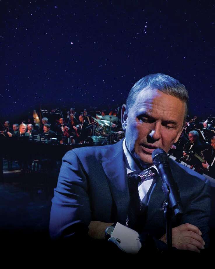 Sinatra. The Man. The Music. starring Bob Anderson comes to The Cynthia Woods Mitchell Pavilion in The Woodlands on April 6.Presented by Live Nation, this Sinatra experience show opens the CWM Pavilion's 30thseason, and is the beginning of a nationwide tour, plus further gigs in London, Tokyo, Rome and Perth. Photo: Courtesy Photo