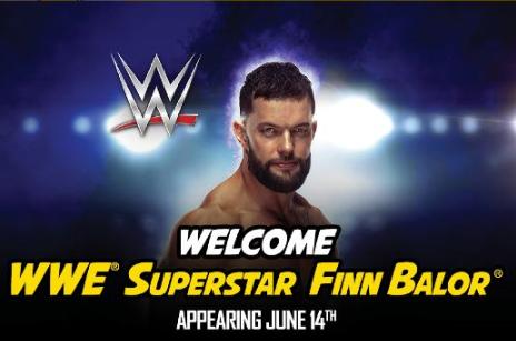 WWE superstar Finn Balor booked for San Antonio's Celebrity Fan Fest