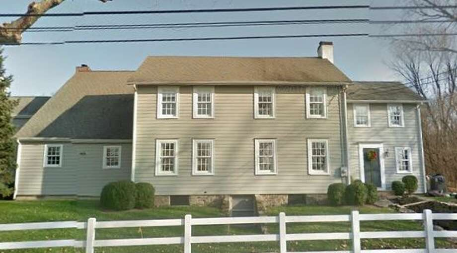 2 Saddle Ridge Road in Darien sold for $1,850,000. Photo: Google Street View
