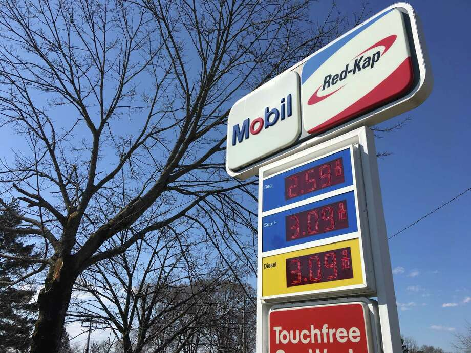 Gas prices have been on the rise as winter gasoline inventories tighten. Since last month, the average cost of a gallon of regular gasoline has risen 17 cents in the Capital Region. Photo: Diego Mendoza-Moyers / Times Union