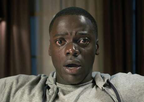 "Daniel Kaluuya (""Sicario"") plays a young African-American man who visits his white girlfriend's family estate in ""Get Out."" Things take a sinister turn in the thriller written and directed by Jordan Peele of Key and Peele fame."