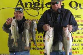 Mike Parsons and David Boles won the Anglers Quest Team Tournament #3 with a stringer weight of 20.64 pounds.