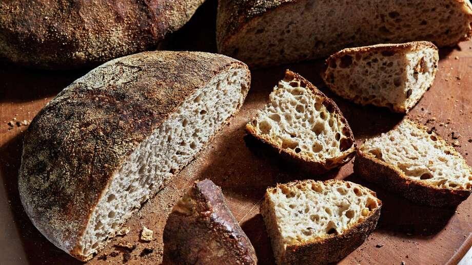 No-Knead Whole-Wheat Bread. Photo: Photo By Stacy Zarin Goldberg For The Washington Post; Food Styling By The Washington Post's Bonnie Benwick. / For The Washington Post