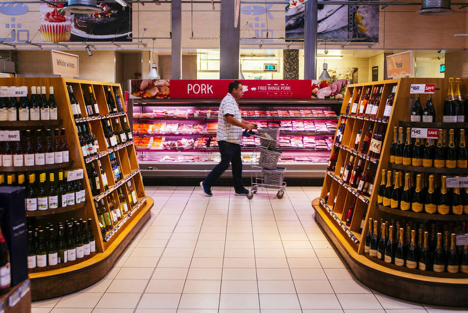 Wine is not allowed to be sold in grocery stores in New York. (Waldo Swiegers/Bloomberg) Photo: Waldo Swiegers / © 2018 Bloomberg Finance LP