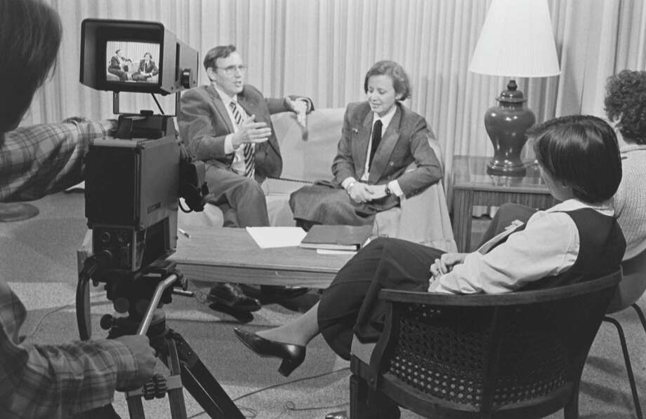 An early taping during establishment of the video archive. Photo: Stephen Naron / Contributed Photo