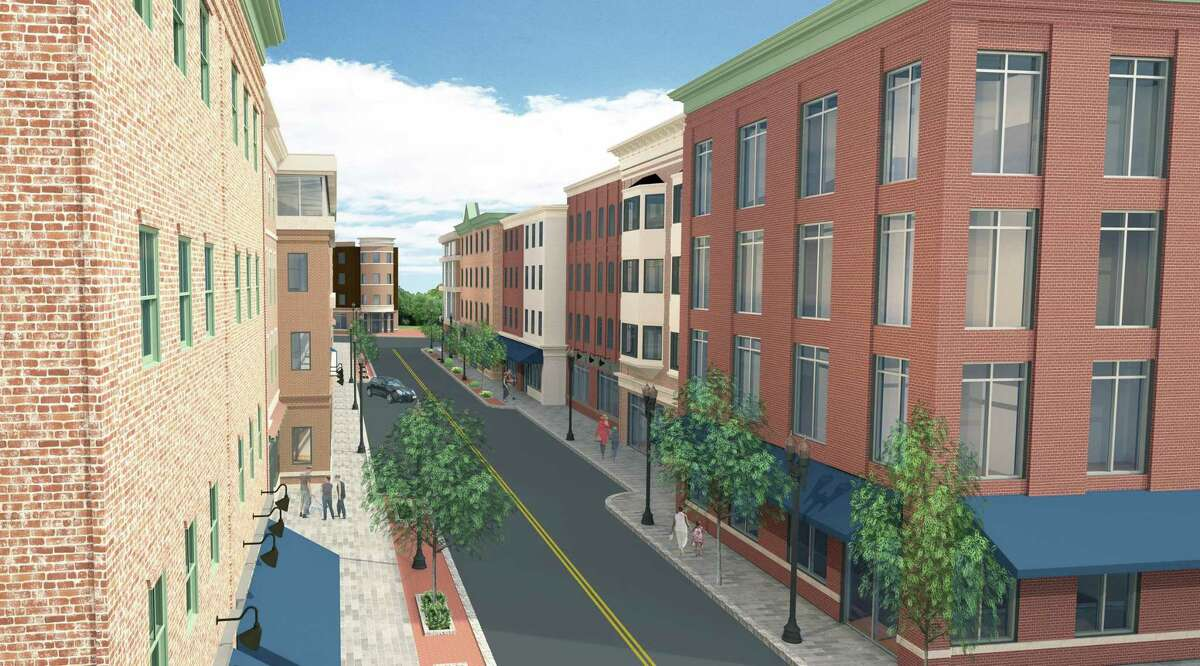 Derby Downtown LLC hopes to get the approvals allowing them to begin building two four-story mixed use buildings on Factory Street by next fall.