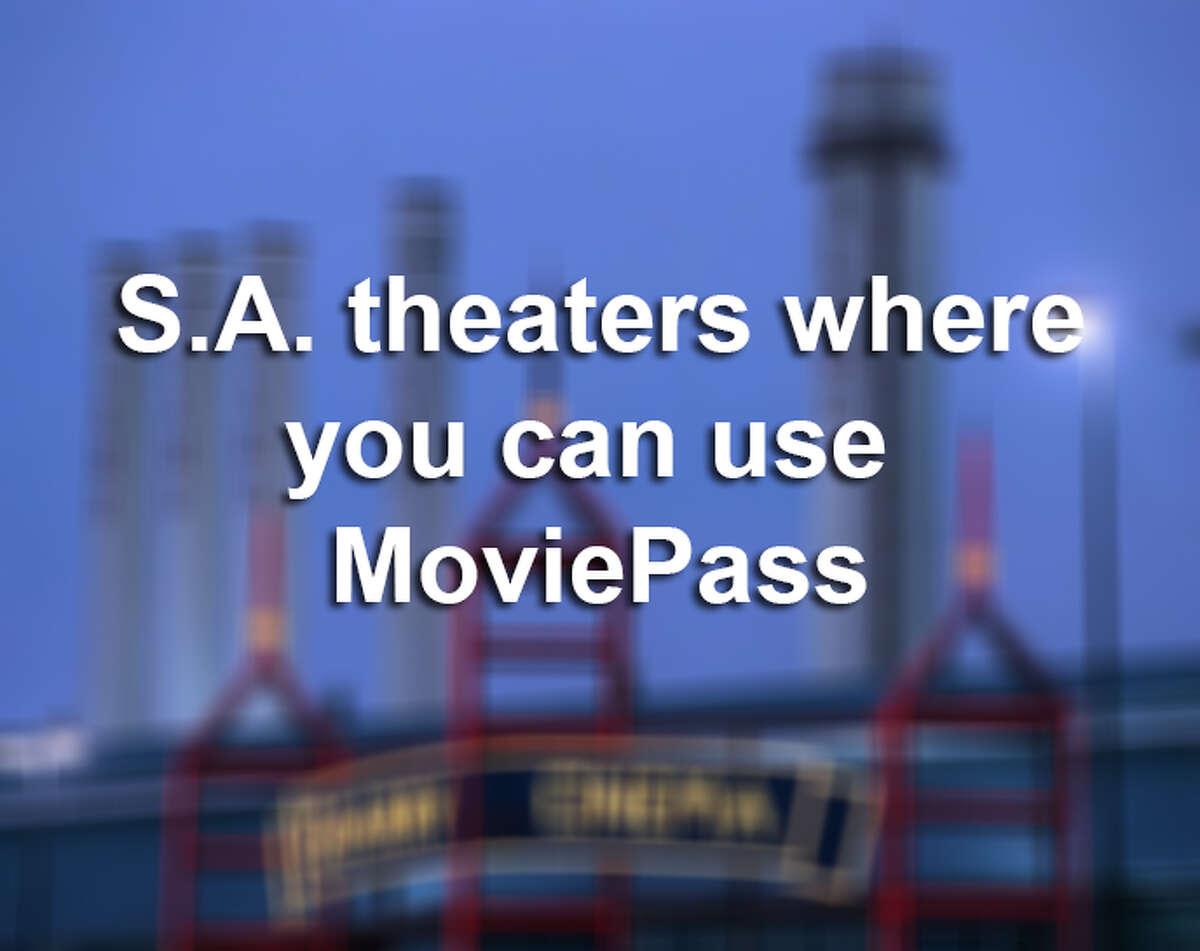 San Antonio theaters where you can use MoviePass.