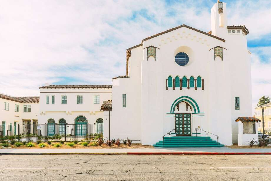 Converted from an abandoned church in Oakland, this lovely building offers studios, 1-BRs and 2BRs in a historic edifice. Photo: Rose On Bond.com