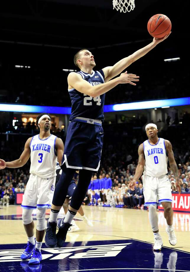 CINCINNATI, OHIO - FEBRUARY 24:  Joe Cremo #24 of the Villanova Wildcats shoots the ball against the Xavier Musketeers at Cintas Center on February 24, 2019 in Cincinnati, Ohio. (Photo by Andy Lyons/Getty Images) Photo: Andy Lyons / 2019 Getty Images