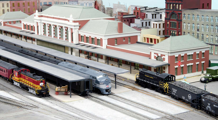 The Rensselaer Model Railroad Society will move with its model New England, Berkshire & Western Railroad layout to 258 Hoosick St. from the basement of Davison Hall, its home since 1972, Photo: Rensselaer Polytechnic Institute