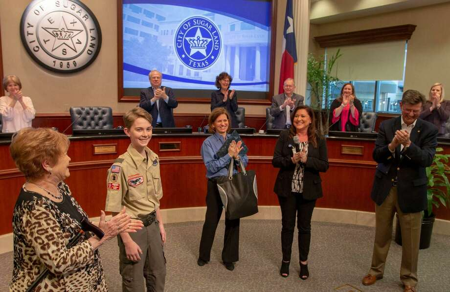 Ben Davis, 14, is being recognized for his heroic efforts after saving the life of his 87-year-old neighbor who had fallen in her yard and wasn't able to move. Photo: Contributed