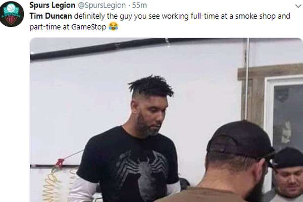 Twitter reacts with hilarious memes and comments after seeing Tim Duncan sporting dreads.