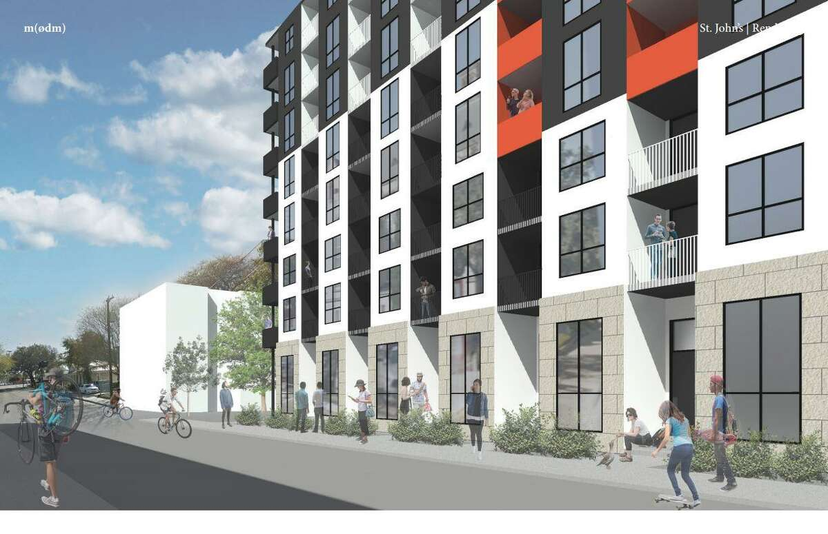 The development will have 250 apartments, an eight-floor parking garage and about 10,000 square feet of ground-floor retail, which will include a restaurant.