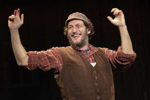 """Yehezkel Lazarov plays Tevye in the touring production of """"Fiddler on the Roof"""" that's coming to the Majestic Theatre."""